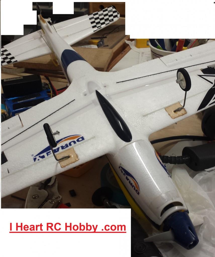 EFX Racer Landing Gear